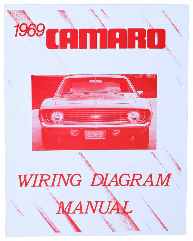L3469 chevrolet camaro parts literature, multimedia literature 1969 camaro dash wiring diagram at panicattacktreatment.co