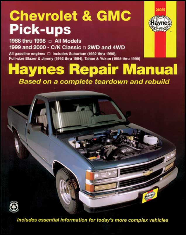 1988 1998 all makes all models parts l775 1988 00 truck rh classicindustries com Chevy Silverado Repair Manual 72 4x4 Repair Manual