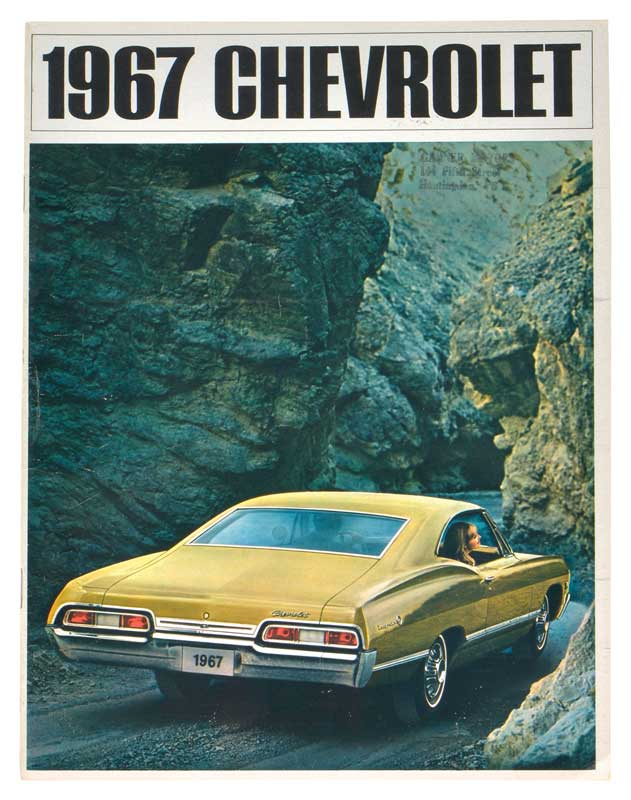1967 All Makes All Models Parts | L895 | 1967 Chevrolet Full-Size Sales  Brochure - NOS (New Old Stock) GM | Classic Industries