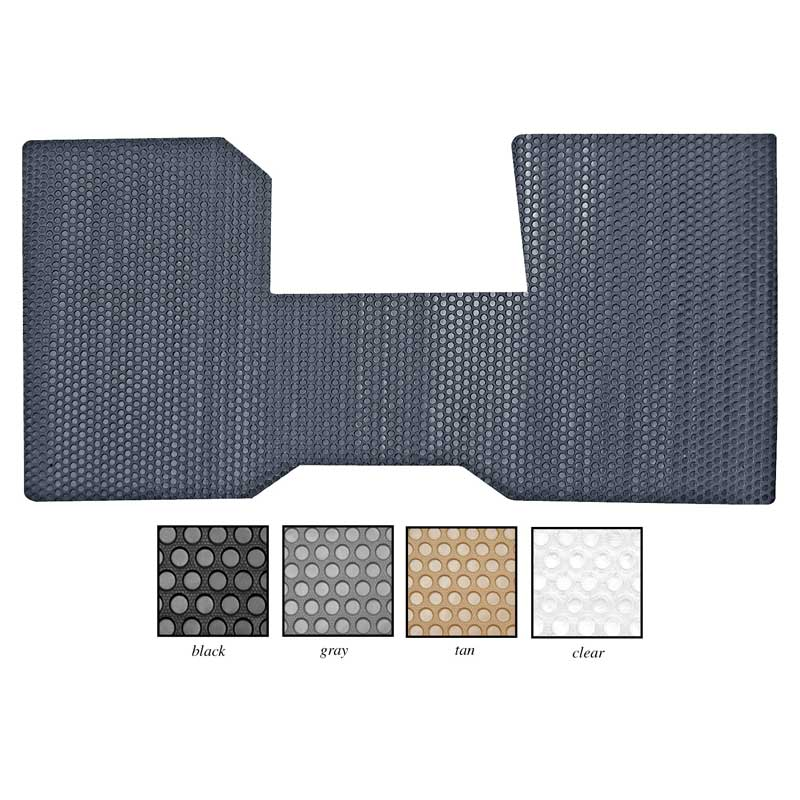 chevy gmc 2 wheel drive pickup with auto trans gray 1 piece all weather front floor mat