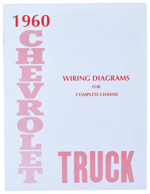 1960 Chevrolet Truck Parts Literature Multimedia Literature