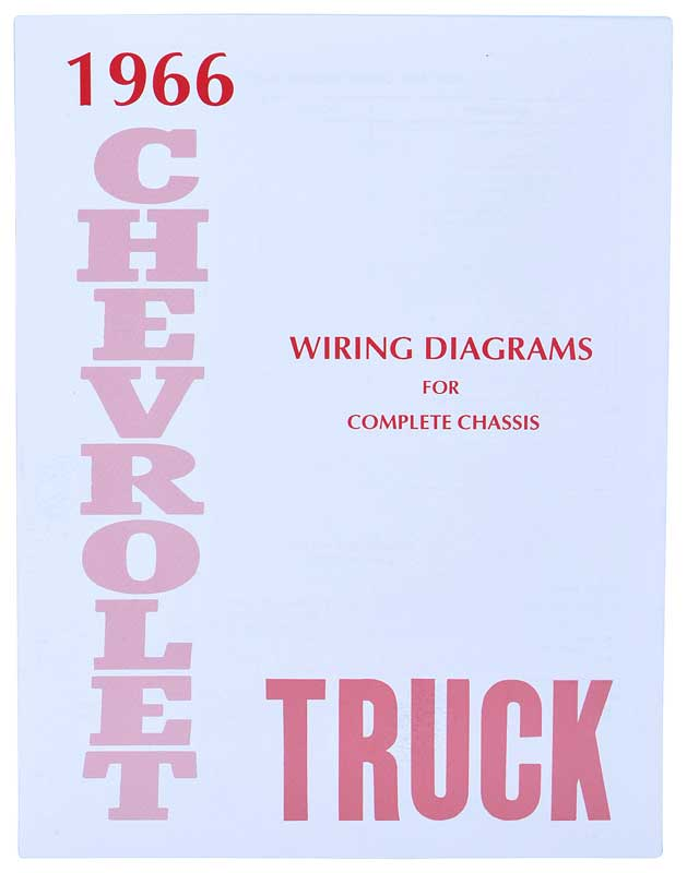 1966 Chevrolet Truck Parts Literature Multimedia Rhclassicindustries: 1966 Chevrolet Corvette Wiring Diagram At Gmaili.net