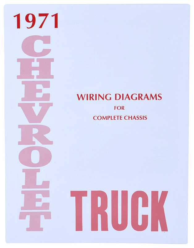 wiring diagram 71 chevy truck wiring diagram 71 chevy truck 1971 chevrolet truck parts | literature, multimedia ...