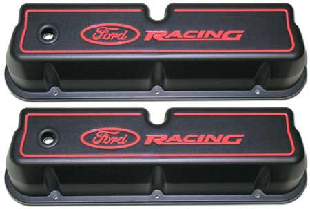 M-6582-62BK Camshaft Cover Pair Ford Racing