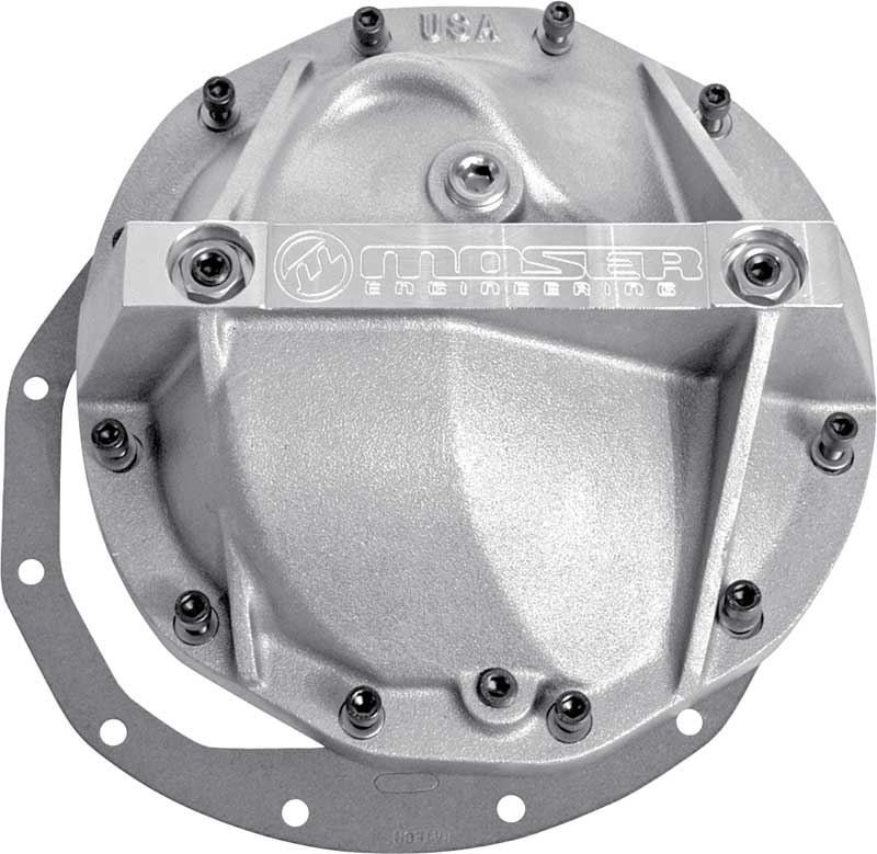 For 66-Up Dodge Ford Dana 60 Chrome Steel Front Rear Differential Cover 10 Bolt