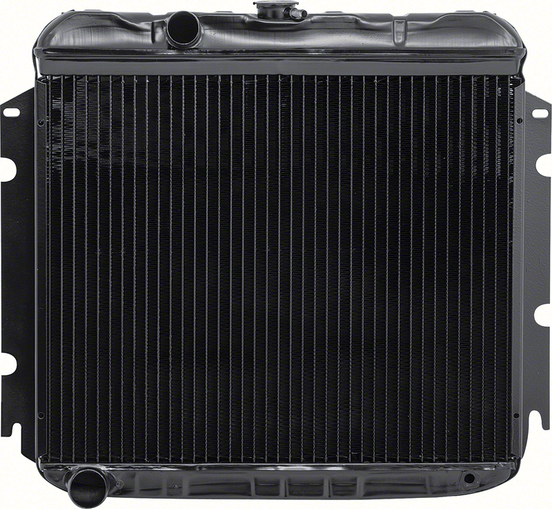 1969 Dodge Dart Parts | MA2257S | 1967-69 Mopar A-Body With 6 Cylinder And  Standard Trans 4 Row Replacement Radiator | Classic Industries
