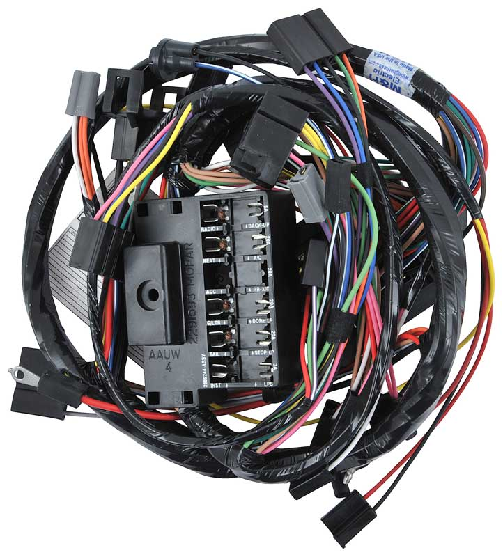 dodge dart parts electrical and wiring harness classic industries rh classicindustries com