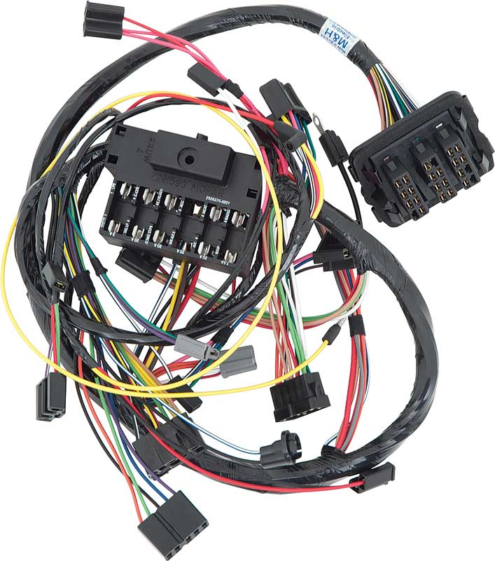 dodge dart parts electrical and wiring wiring and Wiring Harness Diagram Trailer Wiring Harness