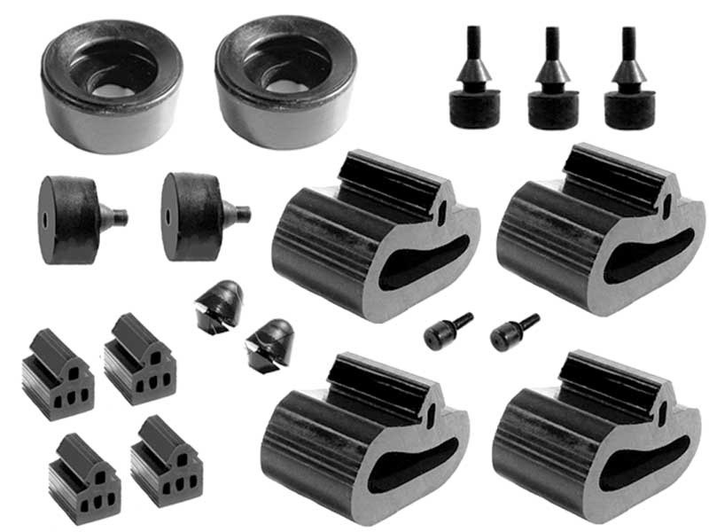 Metro Moulded Parts SBK 205 16-Piece Snap-In Bumper Kit