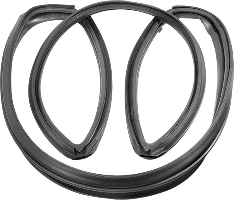 FOR 1966-67 DODGE CORONET CHARGER 2DR HARDTOP NEW Windshield Weatherstrip Seal