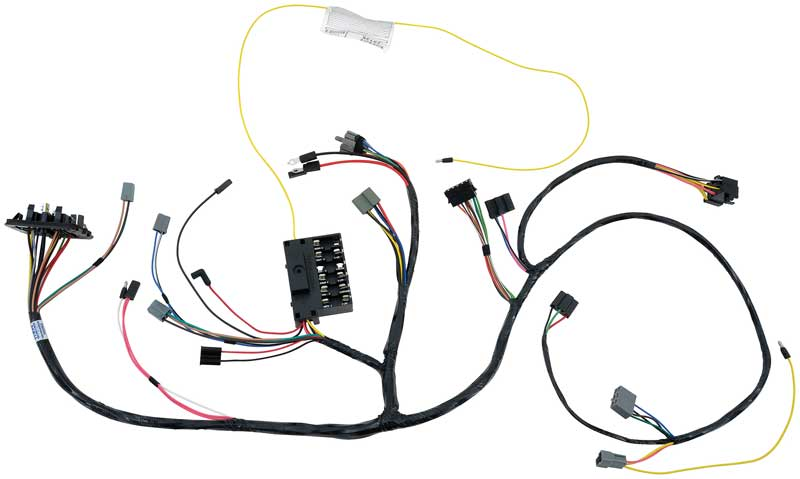 69 b body super bee steering column wiring harness