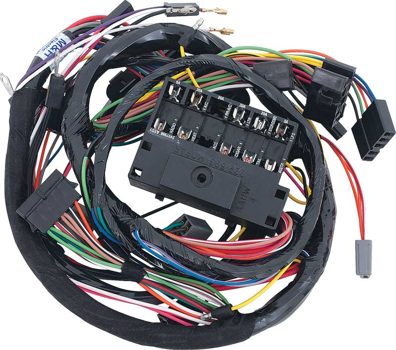 engine wiring harness wrap