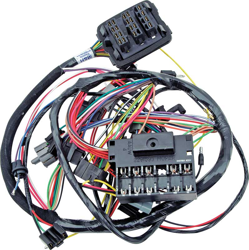 MB2442 1968 dodge charger parts electrical and wiring classic industries 1970 charger wiring harness at gsmportal.co