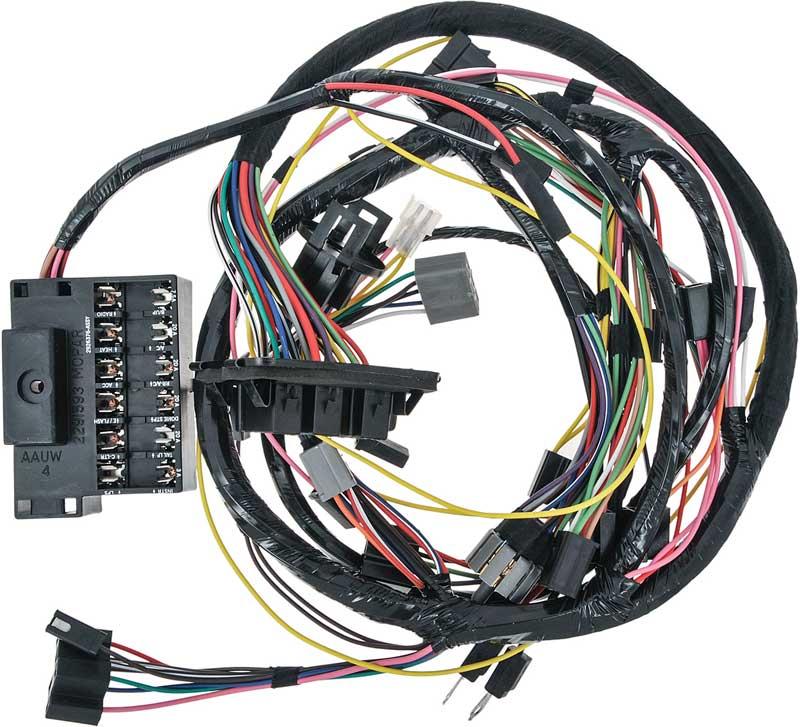 1969 dodge charger parts electrical and wiring wiring and rh classicindustries com 1968 dodge charger wiring harness 1969 dodge charger wiring harness diagram