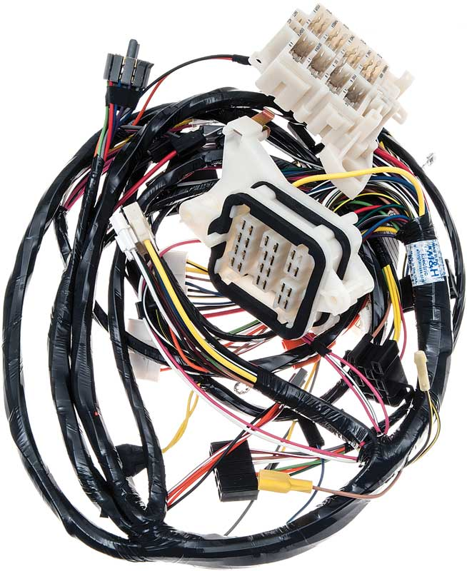 mopar b body charger parts electrical and wiring reproduction mopar wiring harnesses
