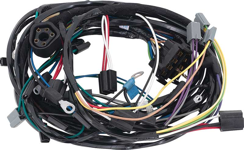 mopar parts electrical and wiring wiring and connectors 1966 plymouth b body w v8 exc hemi modified engine front light harness