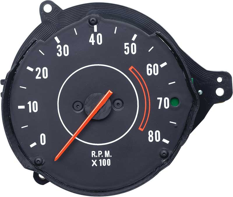 1971-1974 All Makes All Models Parts | MB323 | 1971-74 Mopar B-Body Rallye  In-Dash Tachometer | Classic Industries