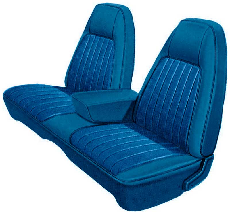 Prime 1973 Dodge Charger Parts Mb799352 1973 Charger Se Bright Blue Bright Blue Vinyl Front Split Bench Seat Upholstery Classic Industries Machost Co Dining Chair Design Ideas Machostcouk