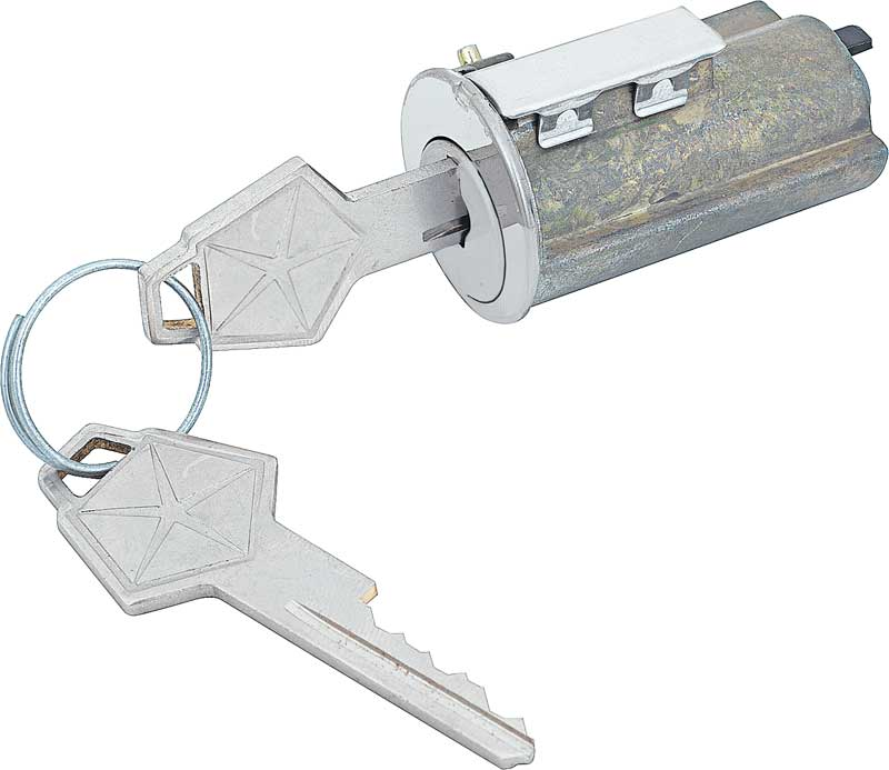 1969 All Makes All Models Parts | MD1631 | 1969 Mopar A-Body / B-Body  Ignition Lock Cylinder With OEM Keys | Classic Industries