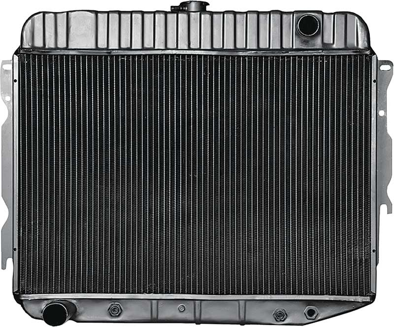 1970 Dodge Charger Parts | MD2290A | 1970-72 Mopar B / E-Body Big Block V8  With Automatic Trans 3 Row 26 Wide Replacement Radiator | Classic