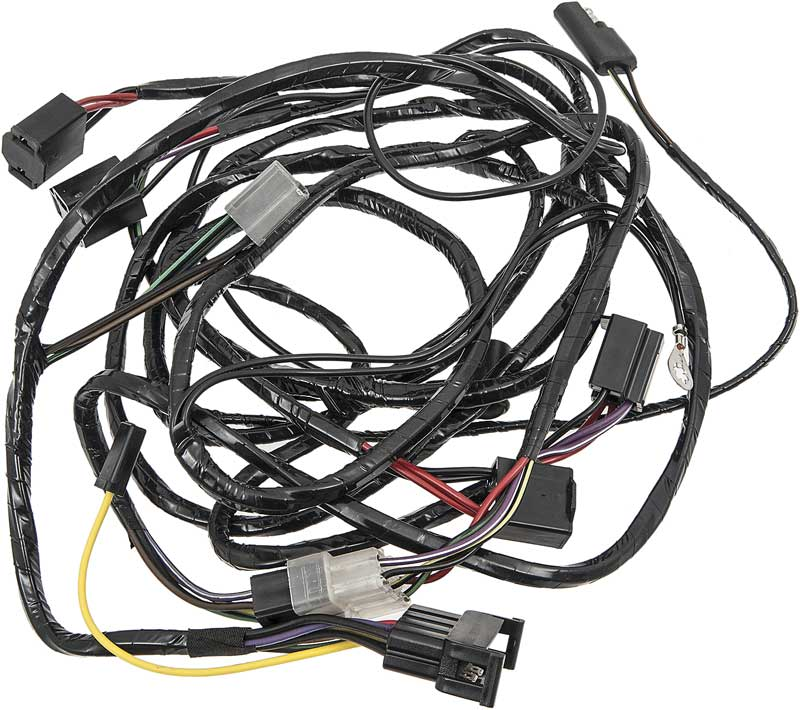 mopar parts electrical and wiring wiring and connectors 69 1969 dodge charger daytona front light harness
