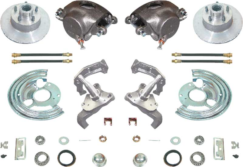 1962 Plymouth Fury Parts | MD7787 | 1960-76 Mopar A-Body Basic Front Wheel  Disc Brake Conversion Set with 11 Standard Rotors | Classic Industries