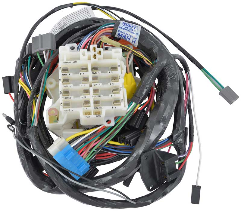 mopar e body cuda parts electrical and wiring wiring reproduction mopar wiring harnesses