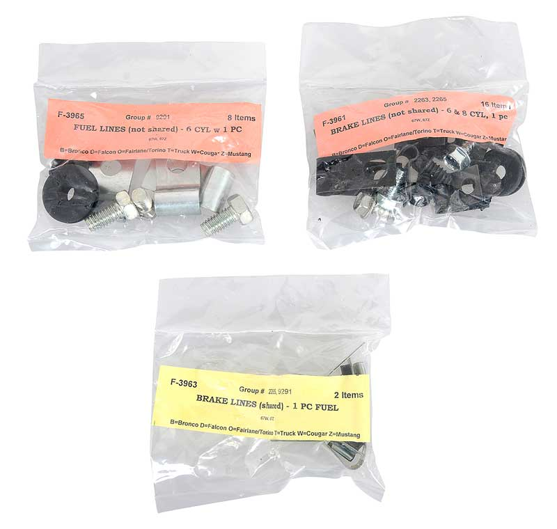 """Some Early Vehicle Emergency Brake Cable Clip 1//2/"""" Brake Hose Retainer Clip"""