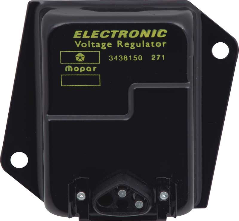 mopar parts electrical and wiring charging system classic 1970 73 mopar a b e body voltage regulator