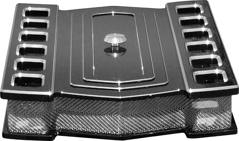 Custom Car Air Cleaner Covers : Chevrolet impala parts mn pro track black