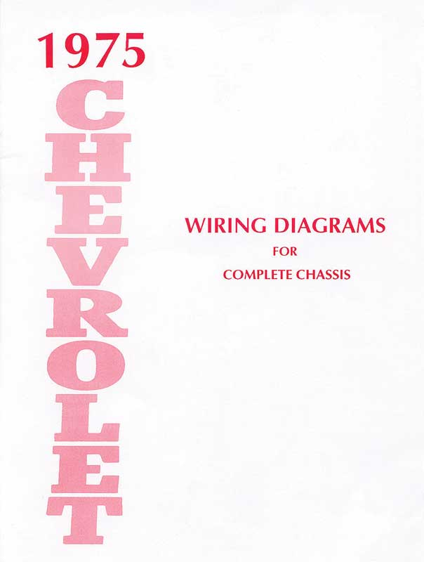 1975 chevy wire diagram 64 chevy wire diagram color 1975 chevrolet impala parts | literature, multimedia ...