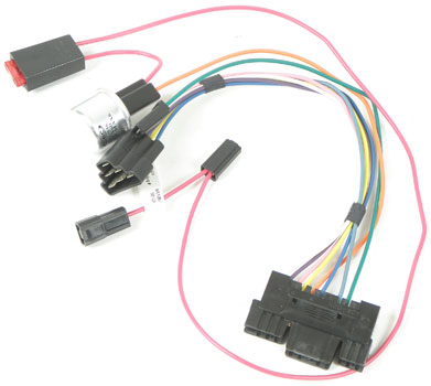 impala parts electrical and wiring wiring and connectors 1959 62 steering column adapter harness for 75 up gm columns