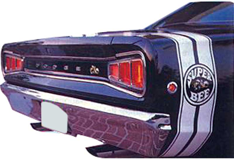 Dodge Coronet Parts Emblems And Decals Stencils And Stripes