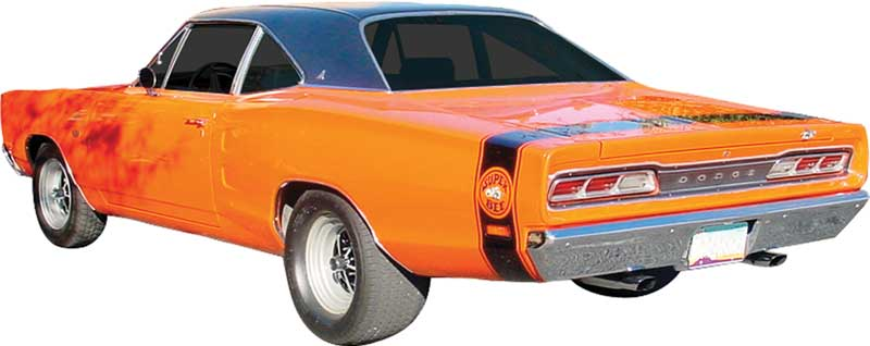 1969 Dodge Coronet Parts | Emblems and Decals | Stencils and Stripes |