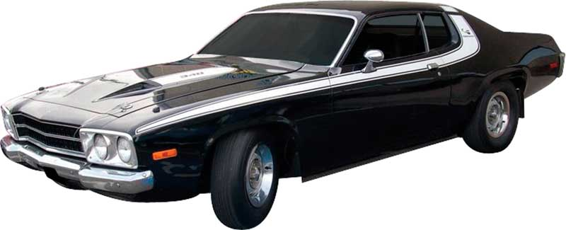 1973 Plymouth Roadrunner Parts | Emblems and Decals | Classic