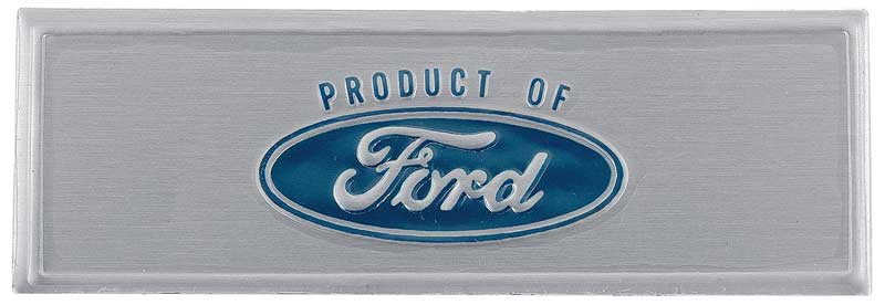 1959-1964 FORD MOTOR CO CARS TRUCKS USE GENUINE FORD PARTS AIR CLEANER DECAL