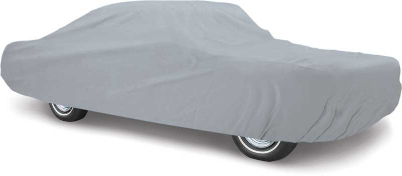 Black Satin CoverMaster Indoor Car Cover for 1966-1967 Dodge Charger Coupe