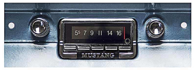 1966 Ford Mustang Parts   Audio and Security   Radio ...