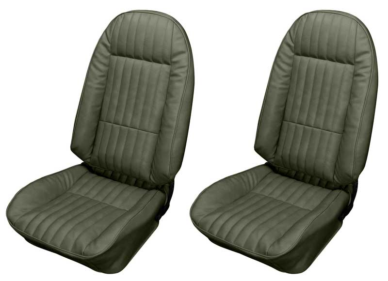 Admirable 1973 1974 All Makes All Models Parts Nf73246 1973 74 Nova Custom Upholstery Front Buckets Only Jade Green Classic Industries Beatyapartments Chair Design Images Beatyapartmentscom