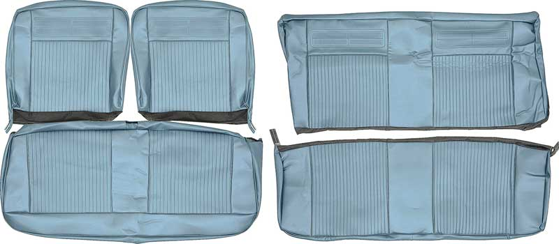 1964 chevrolet chevy ii nova parts interior soft goods seat upholstery upholstery kits. Black Bedroom Furniture Sets. Home Design Ideas