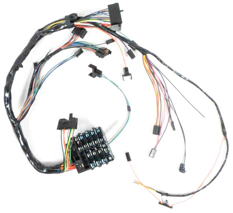 NV01341 1970 chevrolet nova parts electrical and wiring wiring and