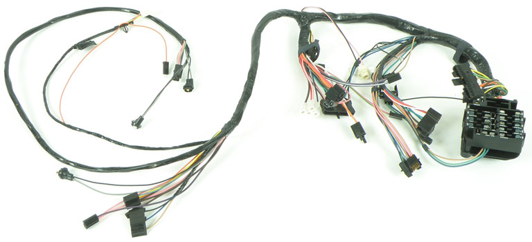 1972 chevrolet nova parts electrical and wiring wiring and rh classicindustries com Dome Lights Wiring Harness for GMC Engine Wiring Harness