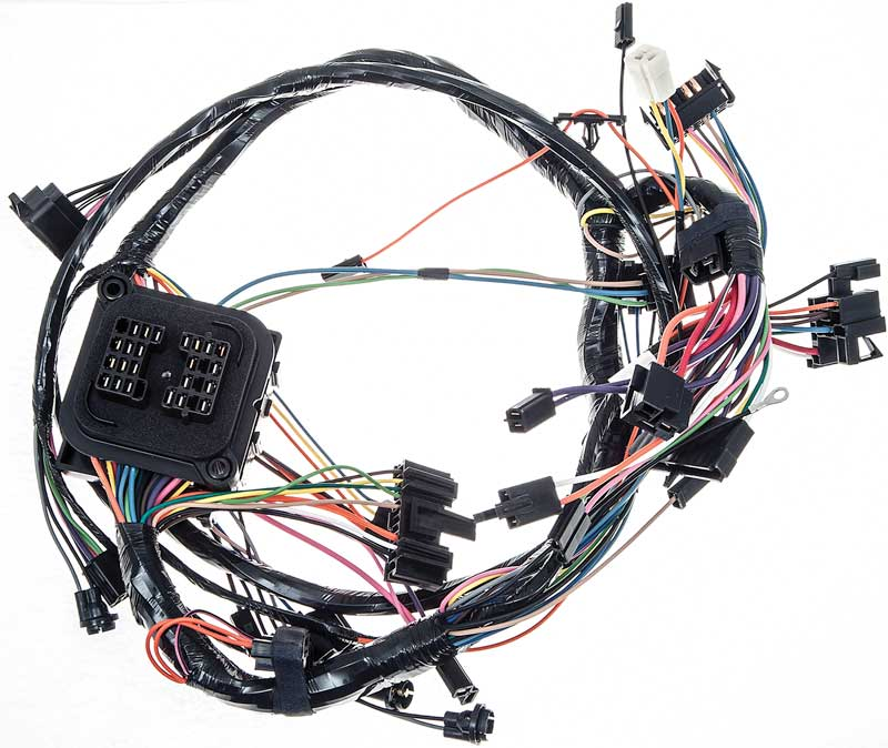NV29946 1971 chevrolet nova parts electrical and wiring wiring and 1971 nova wiring harness at gsmx.co