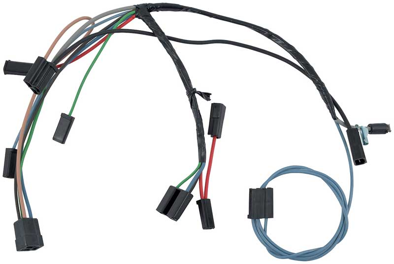 nova parts electrical and wiring wiring and connectors 1963 64 chevy ii nova air conditioning wiring harness