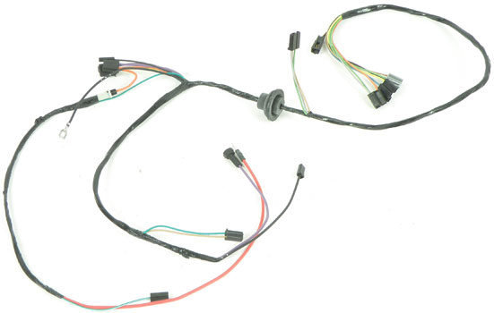 nova parts electrical and wiring wiring and connectors 1973 74 nova air conditioning wiring harness