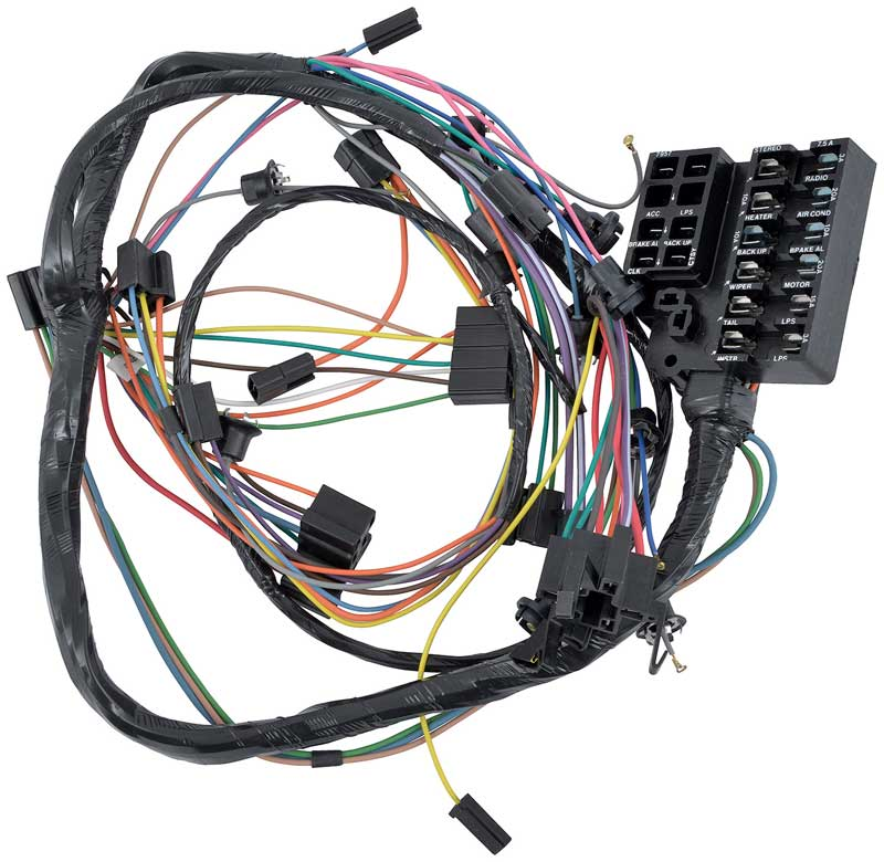 NV67813 1966 chevrolet chevy ii nova parts electrical and wiring 63 nova wiring harness at cos-gaming.co