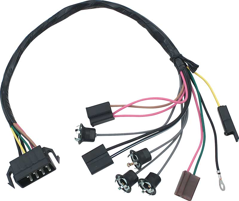 NV85172 1968 chevrolet chevy ii nova parts electrical and wiring nova wiring harness at nearapp.co