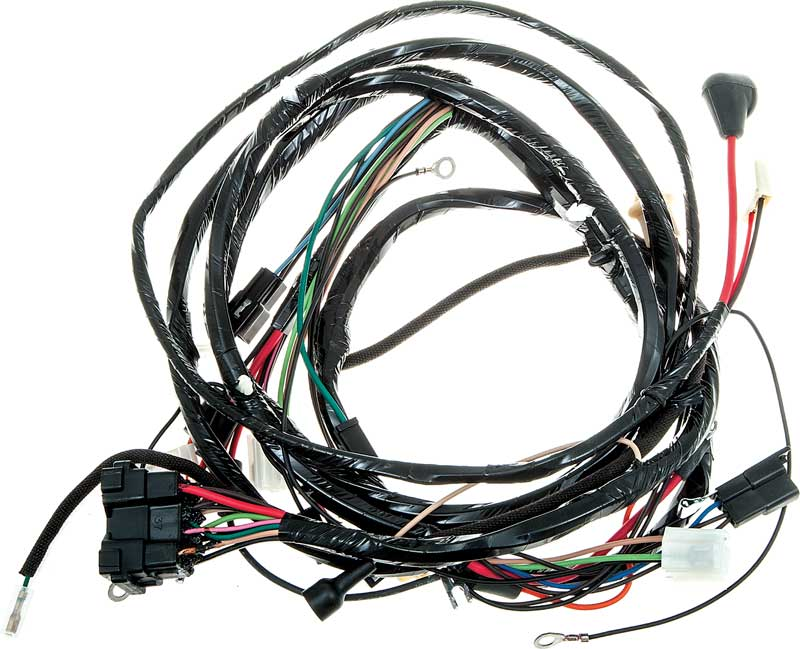 1968 chevrolet chevy ii nova parts electrical and wiring A Wiring Harness For 1968 Chevy Nova a wiring harness for 1968 chevy nova