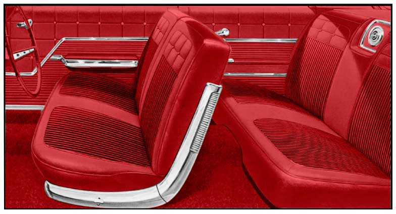 1962 chevrolet impala parts interior soft goods seat upholstery classic industries. Black Bedroom Furniture Sets. Home Design Ideas