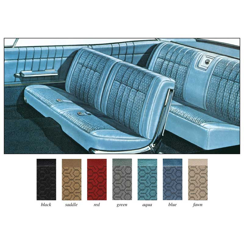 1965 chevrolet impala parts interior soft goods seat upholstery upholstery kits classic. Black Bedroom Furniture Sets. Home Design Ideas